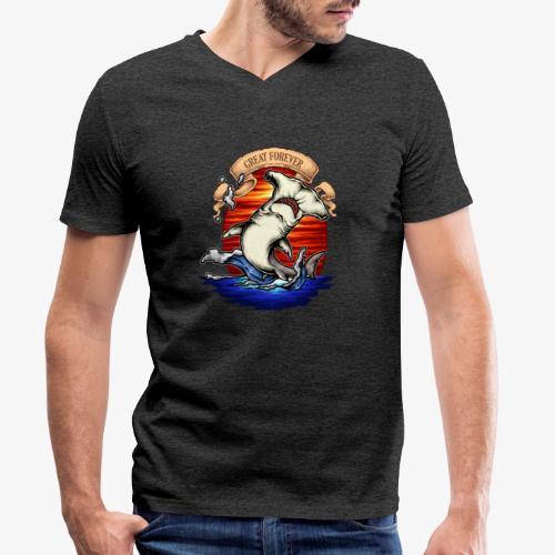Roi de l'océan - T-shirt bio col V Stanley & Stella Homme