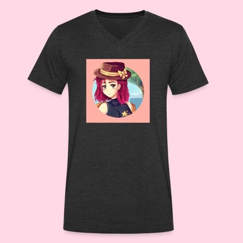 Juliette Badge - T-shirt bio col V Stanley & Stella Homme