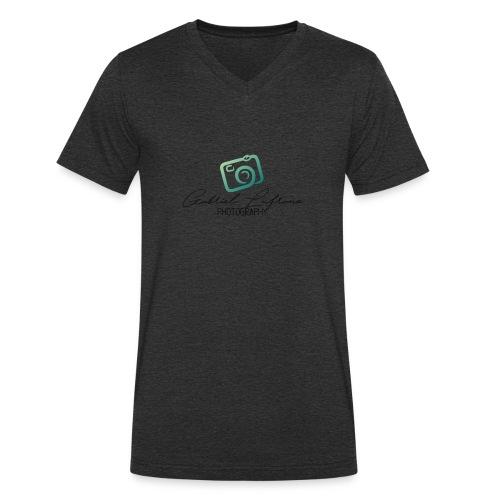 PhotoLuf Logo - Men's Organic V-Neck T-Shirt by Stanley & Stella