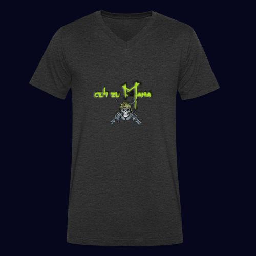 geh zu Mama - Männer Bio-T-Shirt mit V-Ausschnitt von Stanley & Stella