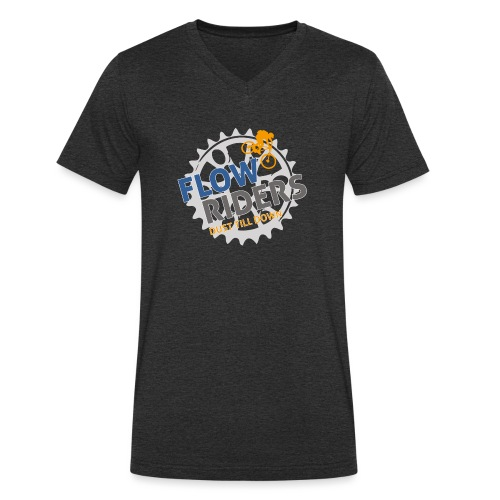 FLOWRIDERS - dust till down - Männer Bio-T-Shirt mit V-Ausschnitt von Stanley & Stella