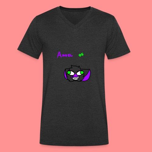 Angel Of Darkness - Men's Organic V-Neck T-Shirt by Stanley & Stella