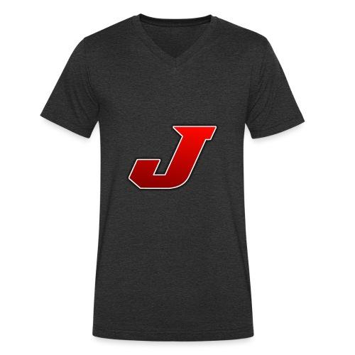 julle - Ekologisk T-shirt med V-ringning herr från Stanley & Stella