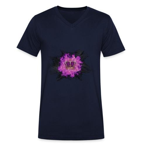Fire Crown - T-shirt bio col V Stanley & Stella Homme