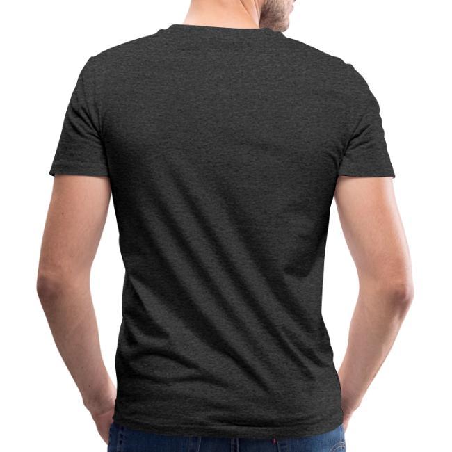 Vorschau: irgendwos hods oiwei - Männer Bio-T-Shirt mit V-Ausschnitt von Stanley & Stella