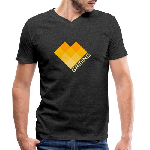 Love Gaming Deluxe Edition - Men's Organic V-Neck T-Shirt by Stanley & Stella