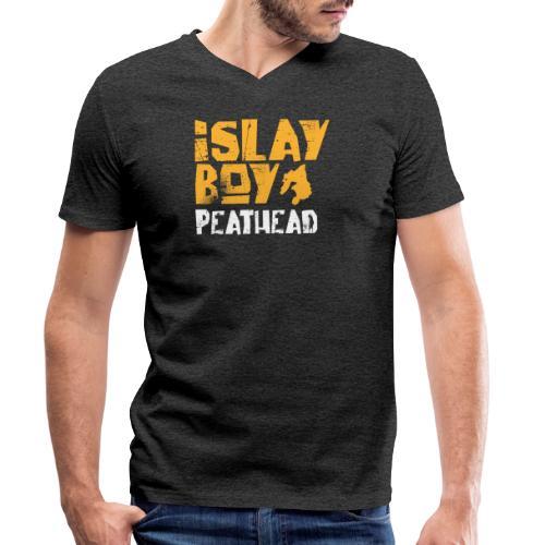 Islay Boy 2 - Männer Bio-T-Shirt mit V-Ausschnitt von Stanley & Stella