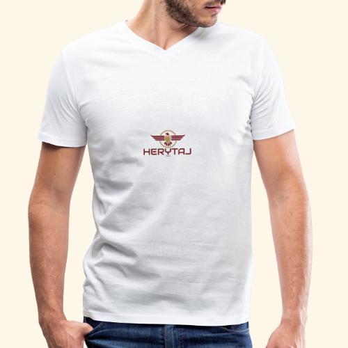 400dpiLogo - T-shirt bio col V Stanley & Stella Homme
