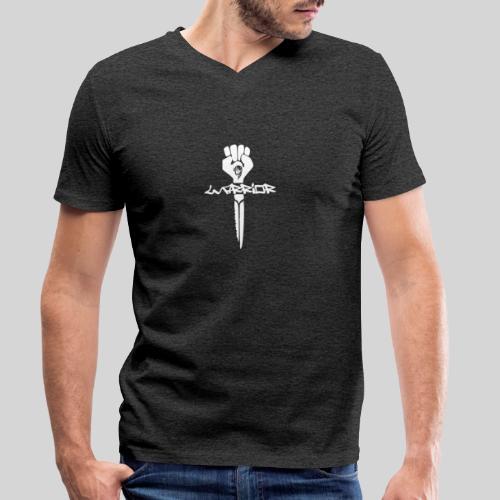 warrior for christ - Kämpfer für Jesus - Männer Bio-T-Shirt mit V-Ausschnitt von Stanley & Stella