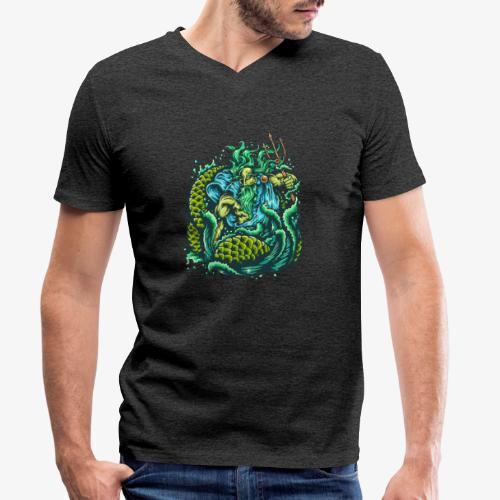 Dieu de la mer - T-shirt bio col V Stanley & Stella Homme