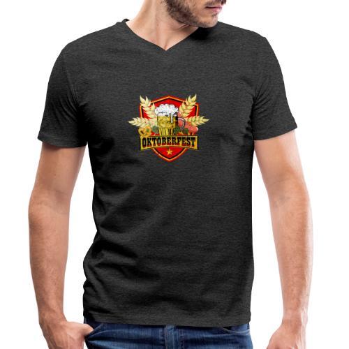 Oktoberfest - Männer Bio-T-Shirt mit V-Ausschnitt von Stanley & Stella