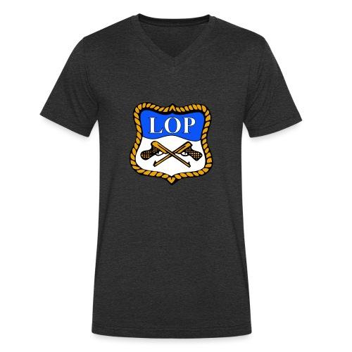 LOP LOGO - Økologisk T-skjorte med V-hals for menn fra Stanley & Stella