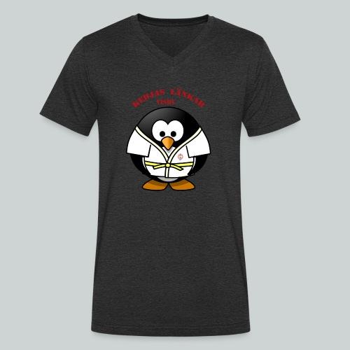 VisbyPenguins - Ekologisk T-shirt med V-ringning herr från Stanley & Stella