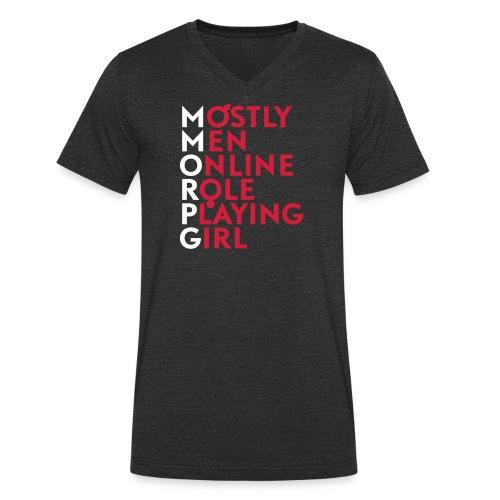 Accronyme MMORPG - T-shirt bio col V Stanley & Stella Homme