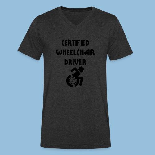 Certified5 - Mannen bio T-shirt met V-hals van Stanley & Stella