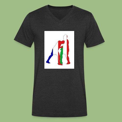 Zidane and Materazzi - Ekologisk T-shirt med V-ringning herr från Stanley & Stella