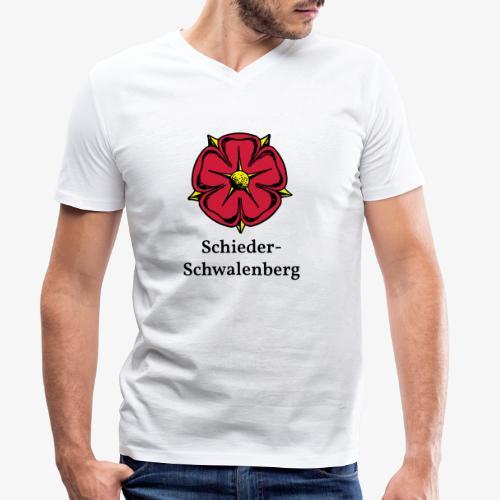 Lippische Rose - Schieder-Schwalenberg - Männer Bio-T-Shirt mit V-Ausschnitt von Stanley & Stella