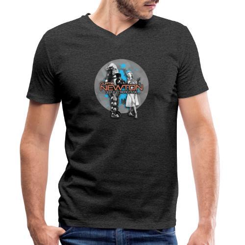 CURTIS NEWTON - DEEP ELECTRONIC MUSIC - Männer Bio-T-Shirt mit V-Ausschnitt von Stanley & Stella