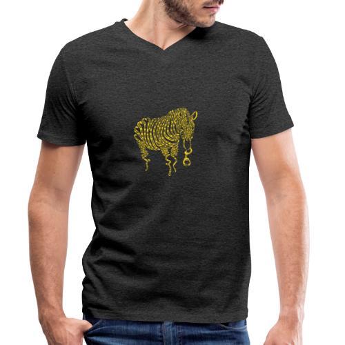 Nature of Crime - Männer Bio-T-Shirt mit V-Ausschnitt von Stanley & Stella