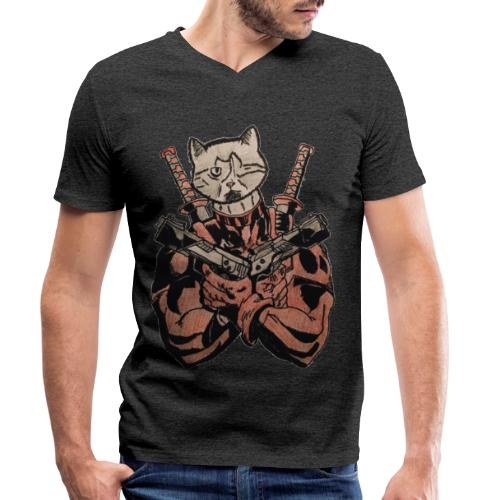 The Clockworks - Luis (colour) - Men's Organic V-Neck T-Shirt by Stanley & Stella