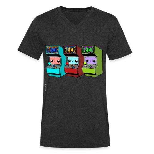 ARCADE GAME - T-shirt bio col V Stanley & Stella Homme