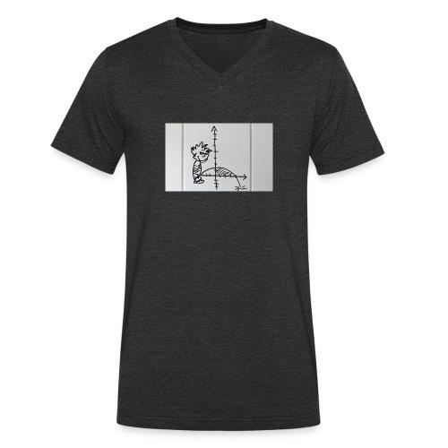Kleiner Pisser - Männer Bio-T-Shirt mit V-Ausschnitt von Stanley & Stella