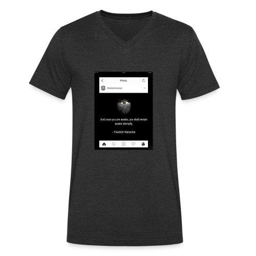 81F94047 B66E 4D6C 81E0 34B662128780 - Men's Organic V-Neck T-Shirt by Stanley & Stella
