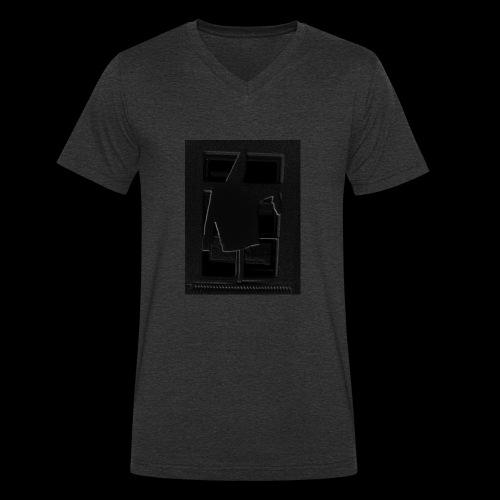 Dark Negative - Men's Organic V-Neck T-Shirt by Stanley & Stella