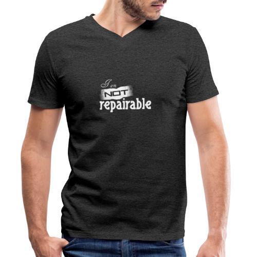 Ich bin nicht reparierbar - Männer Bio-T-Shirt mit V-Ausschnitt von Stanley & Stella