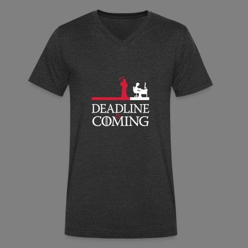 deadline is coming - Männer Bio-T-Shirt mit V-Ausschnitt von Stanley & Stella