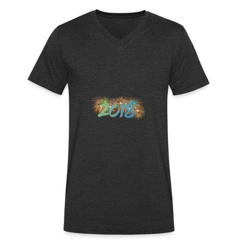 Joyeux Année 2018 - T-shirt bio col V Stanley & Stella Homme