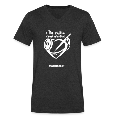 Ma petite couturière (version light) - T-shirt bio col V Stanley & Stella Homme