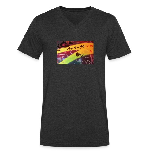 Mathe - Männer Bio-T-Shirt mit V-Ausschnitt von Stanley & Stella