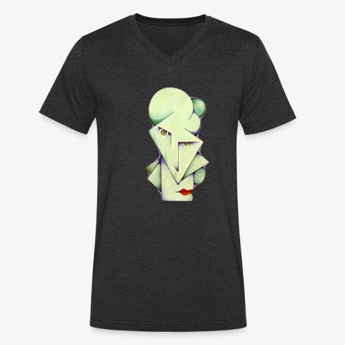 Mintman - Men's Organic V-Neck T-Shirt by Stanley & Stella