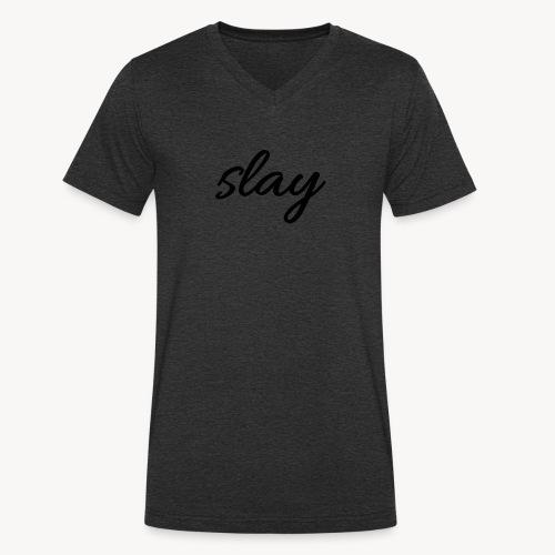 SLAY - Stanley & Stellan miesten luomupikeepaita