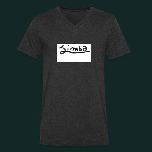LOGO1-png - T-shirt ecologica da uomo con scollo a V di Stanley & Stella