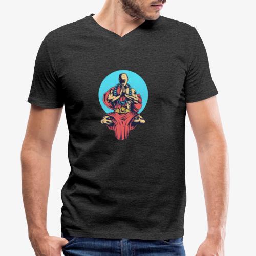 La paix intérieure - T-shirt bio col V Stanley & Stella Homme