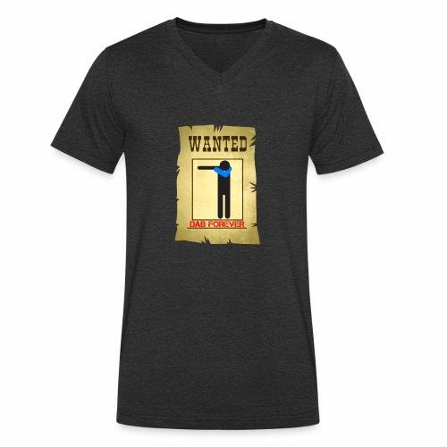 DAB WANTED / Tutti cercano la dab - T-shirt ecologica da uomo con scollo a V di Stanley & Stella