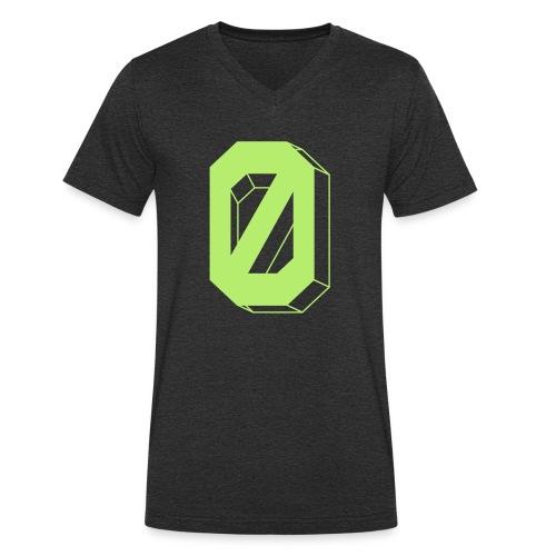 Die Grüne-Null - Men's Organic V-Neck T-Shirt by Stanley & Stella