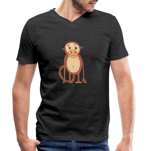 Bobo le singe - T-shirt bio col V Stanley & Stella Homme