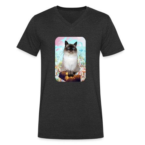Billy Stargazing - Mannen bio T-shirt met V-hals van Stanley & Stella
