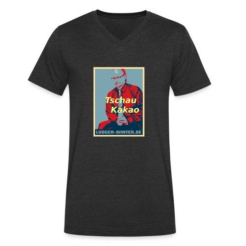 Ludger Winter Fan Foto 1 4 1 - Männer Bio-T-Shirt mit V-Ausschnitt von Stanley & Stella