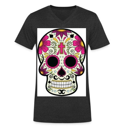 tête messico - T-shirt bio col V Stanley & Stella Homme