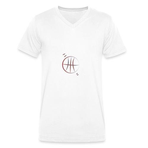 basket - T-shirt ecologica da uomo con scollo a V di Stanley & Stella