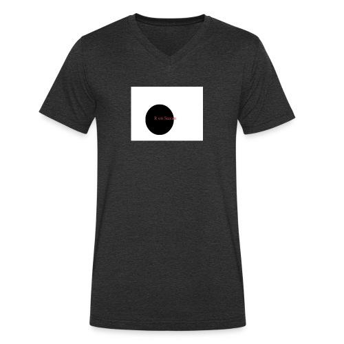 roel en zuzan - Mannen bio T-shirt met V-hals van Stanley & Stella