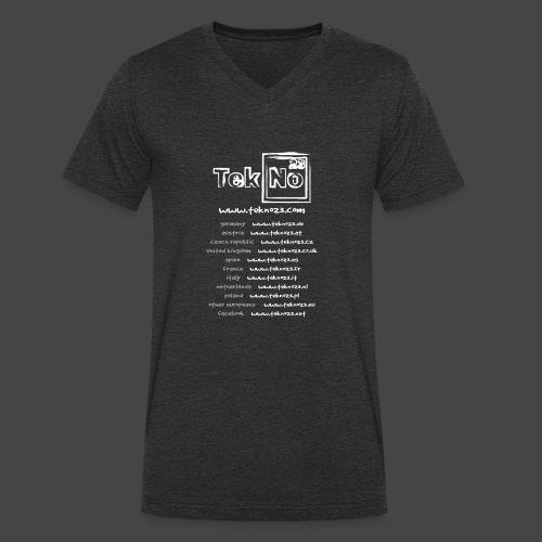 tekno23 - T-shirt bio col V Stanley & Stella Homme