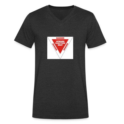 Danger Ejection Seat - Mannen bio T-shirt met V-hals van Stanley & Stella