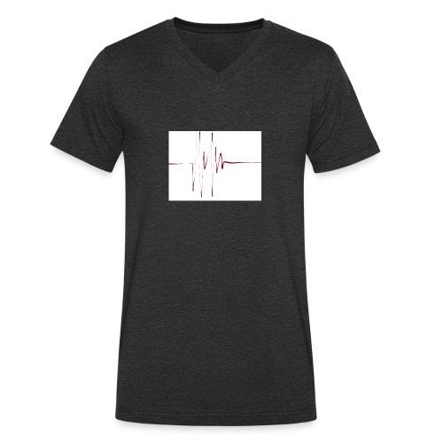 linie - Männer Bio-T-Shirt mit V-Ausschnitt von Stanley & Stella