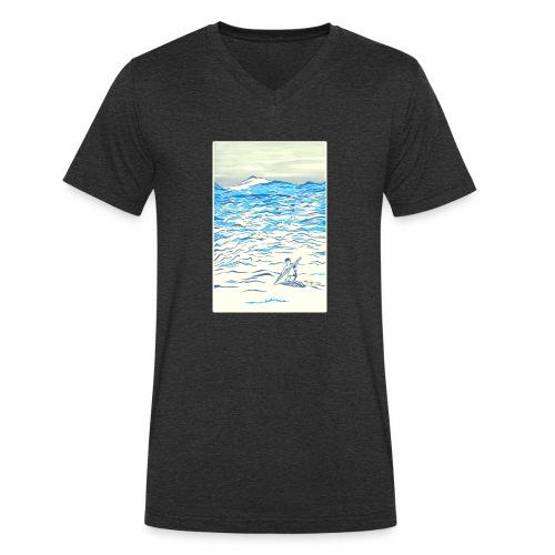 EVOLVE - Men's Organic V-Neck T-Shirt by Stanley & Stella