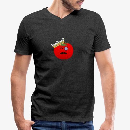 Tomatbaråonin - Ekologisk T-shirt med V-ringning herr från Stanley & Stella